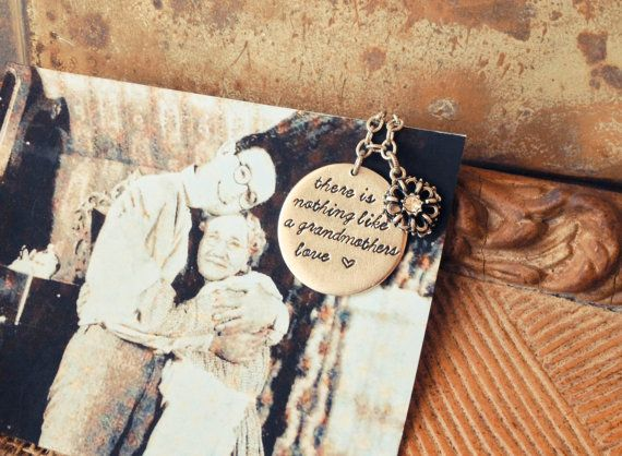 Grandmother Wedding Gift: There Is Nothing Like A Grandmothers Love- Grandmother