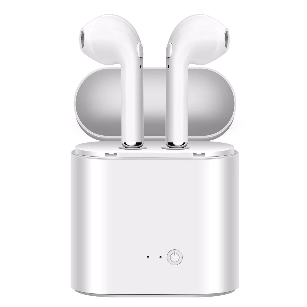Bluetooth Earphones Earbuds Wireless Headset Tws Double Twins Stereo Music Headphone For Iph Wireless Earbuds Bluetooth Earphones Bluetooth Headphones Wireless