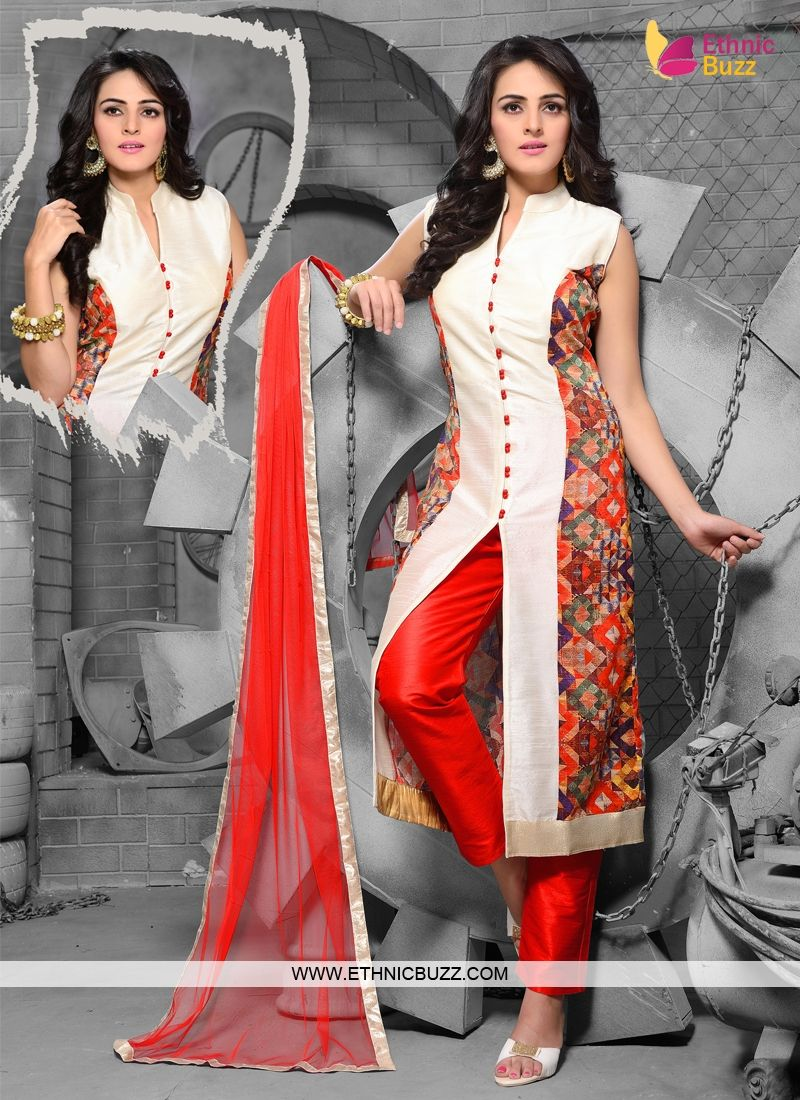Churidar New Look Pant Style Suit Design