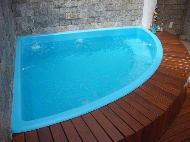 Tipo de piscina canto piscina pinterest ba eras de for Baneras pequenas medidas