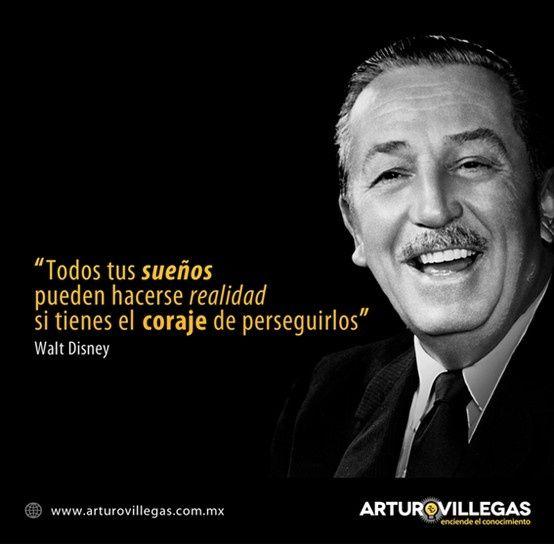 Walt Disney Frases En Español Buscar Con Google Walt Disney Walt Disney Mickey Mouse Walt
