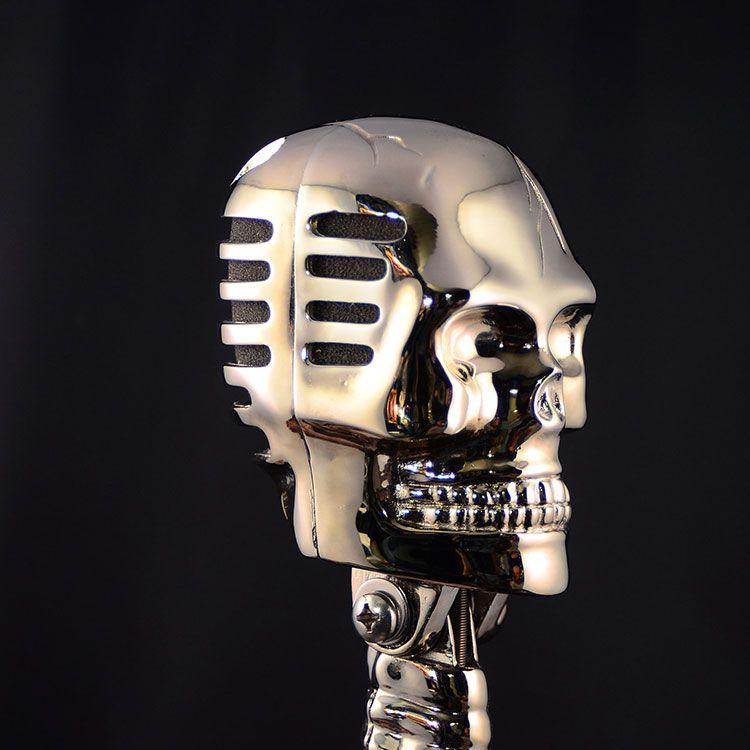 картинки скелета с микрофоном расскажу