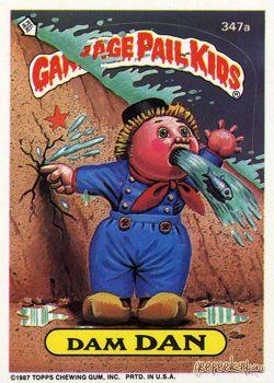 Geepeekay Com Original Series 9 Gallery Garbage Pail Kids Garbage Pail Kids Cards Pail