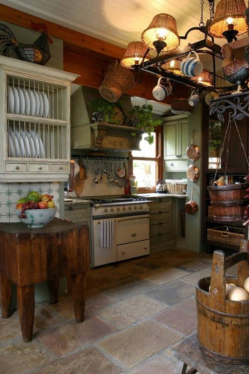primitive kitchen lighting ideas