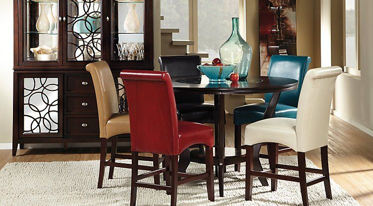 Dining Room Chairs With Covers 2 Round Dining Room Sets