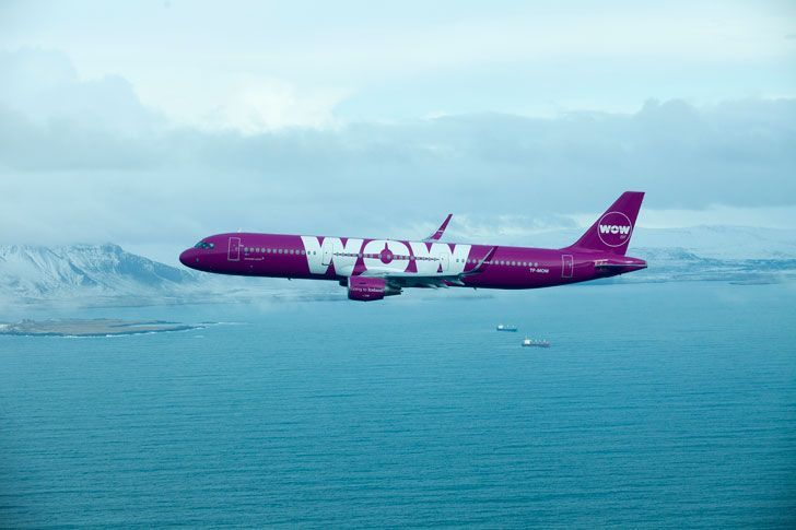 WOW Air moves from London Gatwick to London Stansted