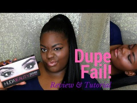 db4dcd07c8 Dupe Fail! Aliexpress Huda Beauty Rose Palette - YouTube