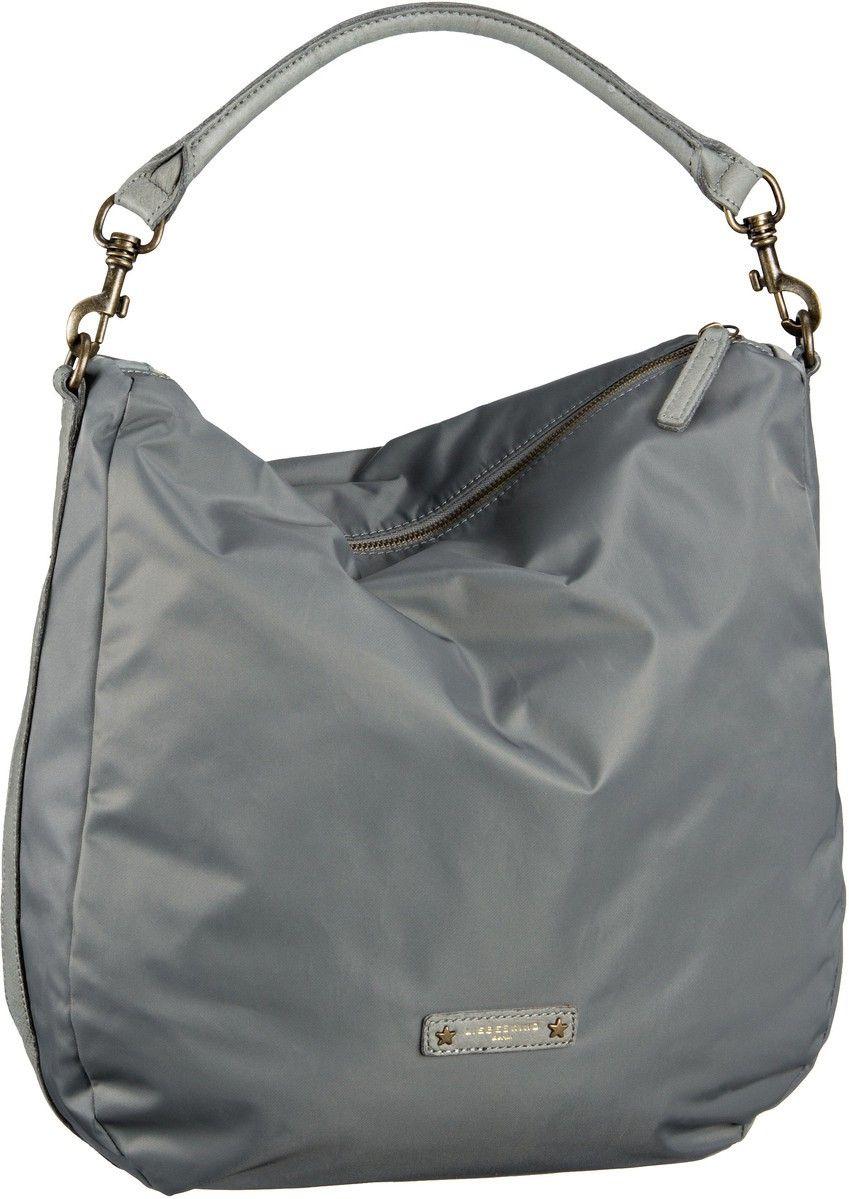 8088edd64d51 Liebeskind Ramona D Nylon Grey - Beuteltasche   Handtaschen ...
