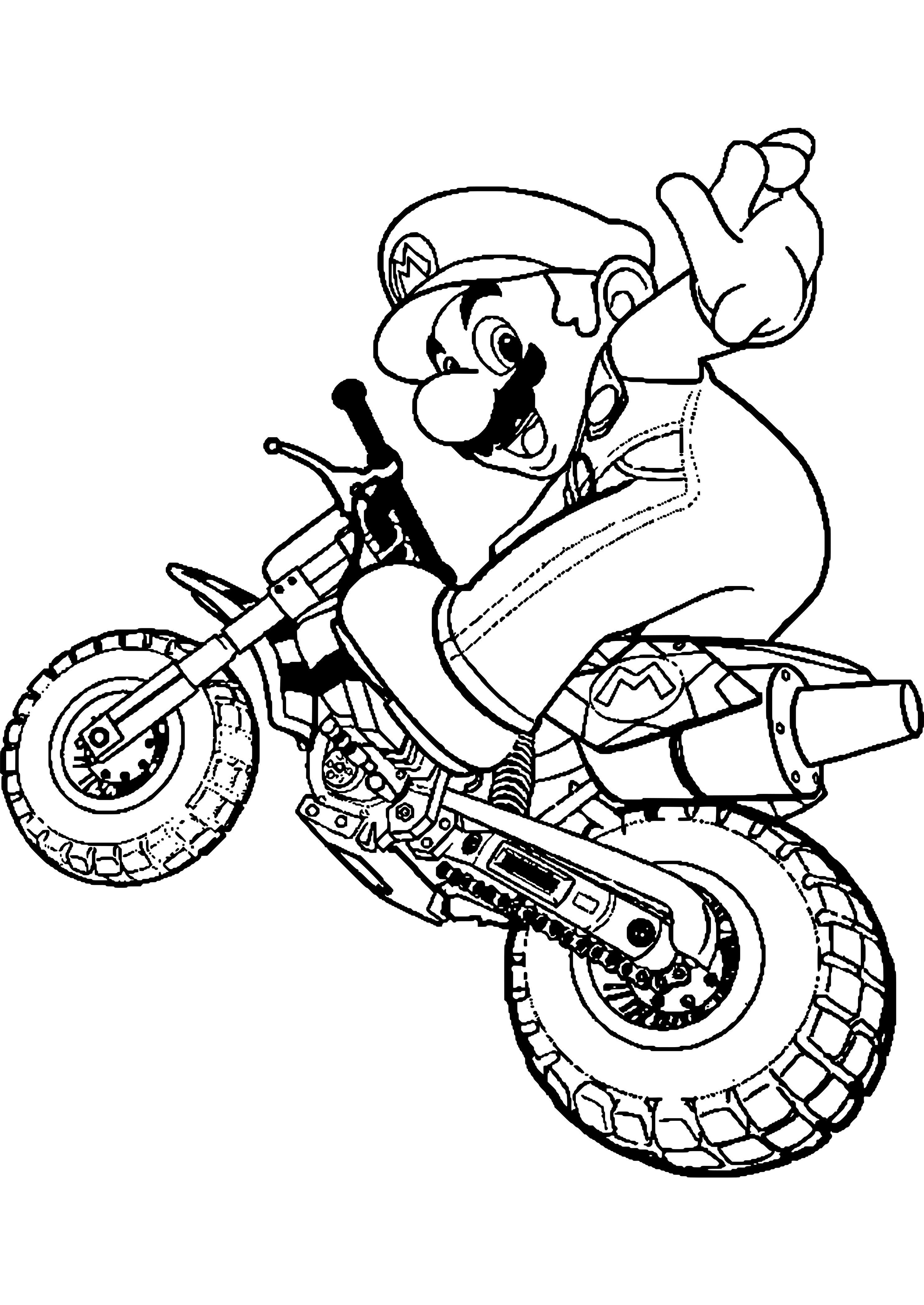 dessin motocross | Libri da colorare, Disegni da colorare ...