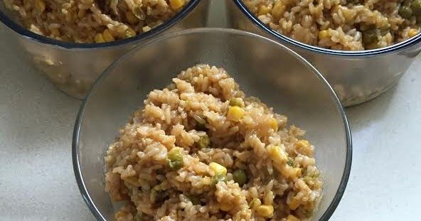 "The Healthy Hoff: Hoff's ""Lunch Dump Fried Rice"" (Instant Pot)"