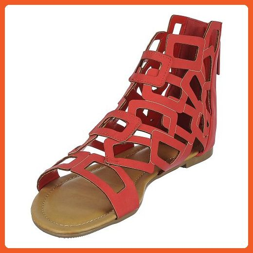 a513122366d Shiekh Womens  136 Sandal - Red Size 5.5 - Sandals for women ( Amazon  Partner-Link)