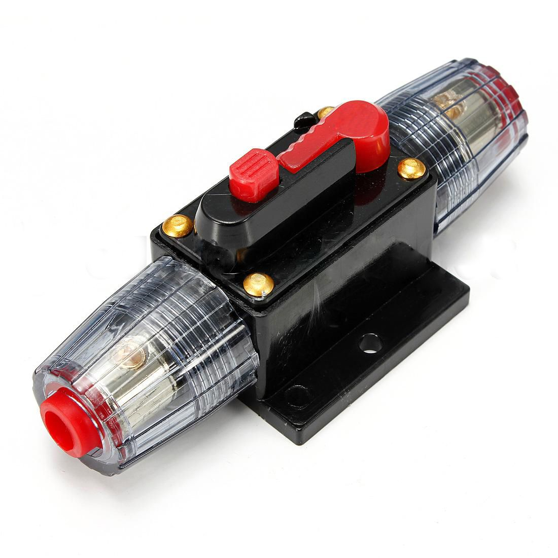 ksol 60a car audio inline circuit breaker fuse holder 12v 24v system rh pinterest com