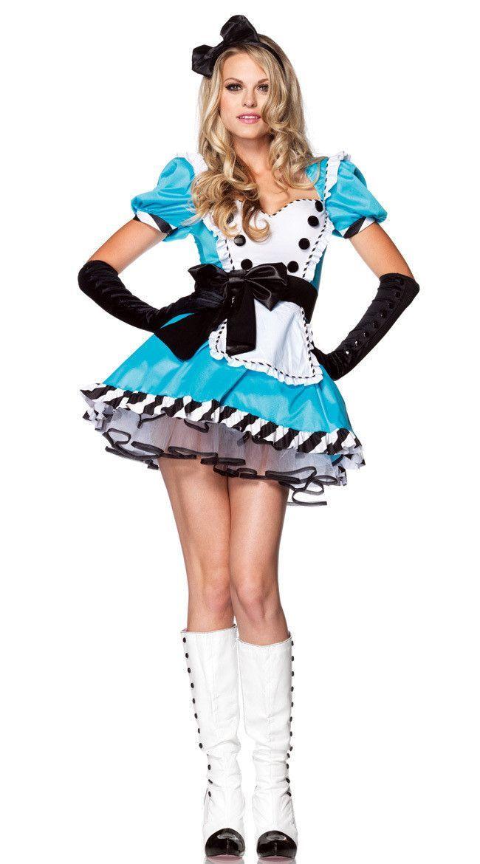 Miss Mad Hatter Kostüm Erwachsene Alice Fairy Märchen Damen Kostüm Outfit