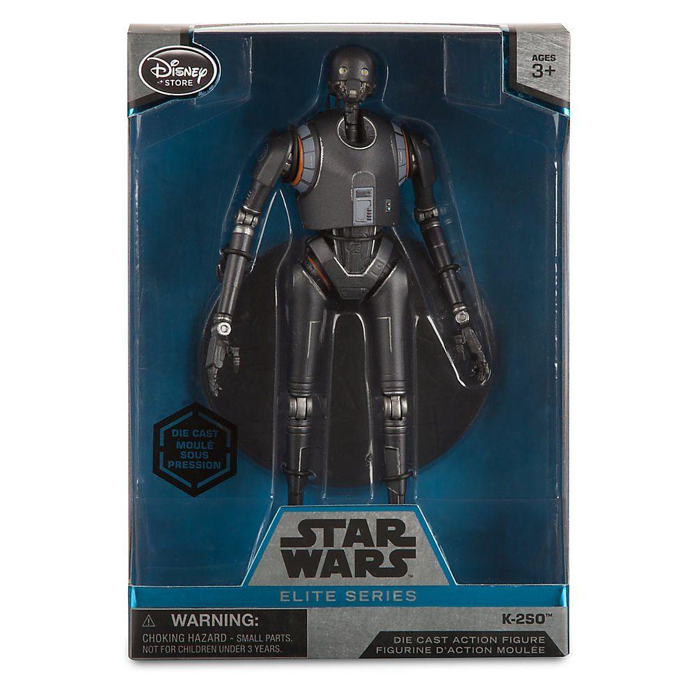 Figure Genuine Authentic Disney Store New Star Wars Elite Series Die Cast 6 in