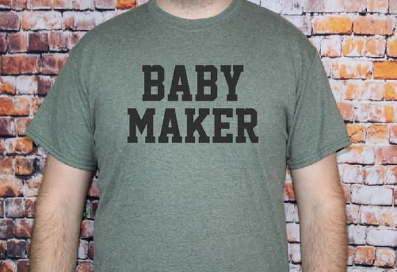 baby maker t shirt new dad tee gift for new dad pregnancy