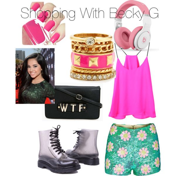 Shopping with Becky G