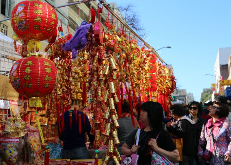 Chinese New Year Flower Fair opens in San Francisco (7