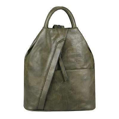 Photo of from ITALYSHOP24.COM DAMEN RUCKSACK Tasche Leder Optik Daypack Backpack Handtasc…