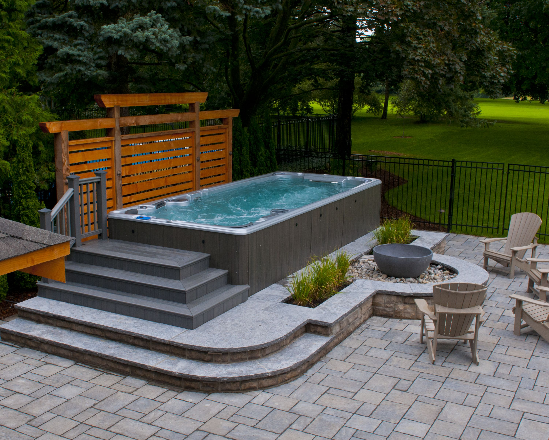 Hydropool Aqua Trainer Swim Spa. www.hydropoolmanchester