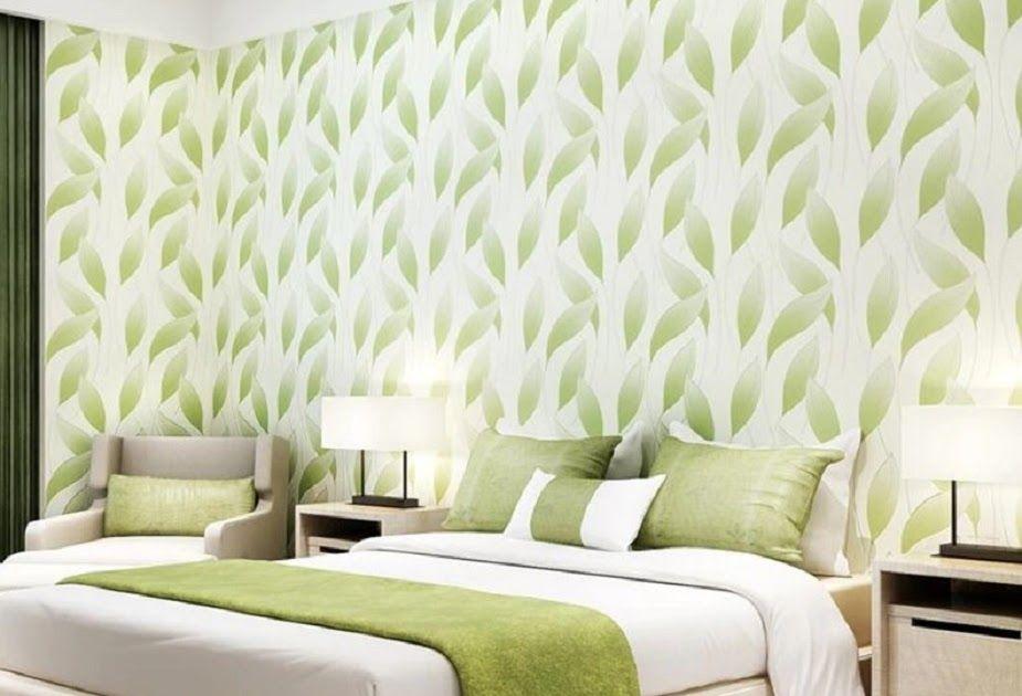 Wallpaper Dinding Bata Daun