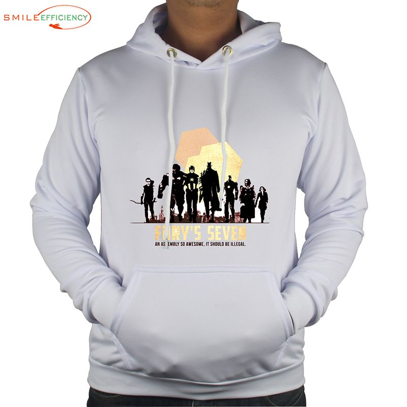 0249326a05b1 Fury s Seven (3D Print WY Series) wholesale with winter soldier costume  hoodie Captain America Comics Hoodies Sweatshirts WY0004