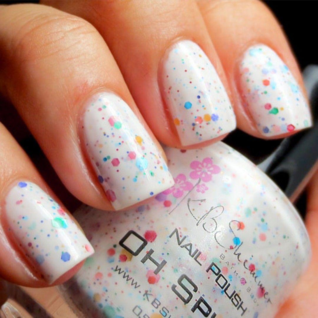 White Nail Polish Trend: White Nail Polish Designs