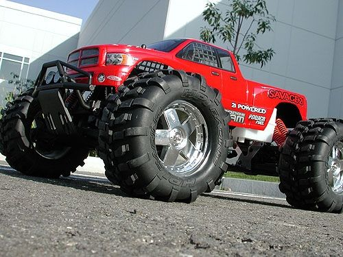 Red Colour Dodge Ram Real Monster With Images Lifted Trucks