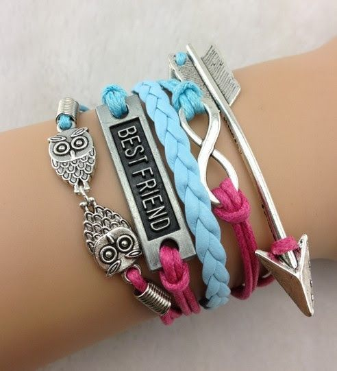 P S I Love You More Boutique Best Friends Forever Bracelet Set Online Ed By Nvy
