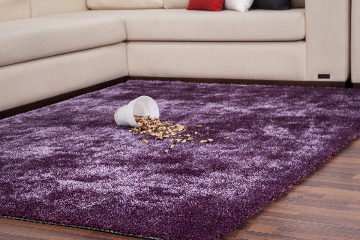 impressionnant tapis de salon violet | Décoration française ...