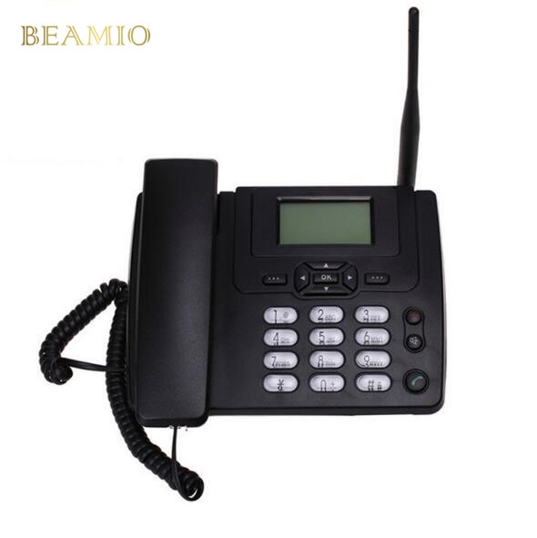 Cheap Landline Telephone, Buy Quality Telephone Home Directly From China  Fixed Gsm Phone Suppliers: GSM Fixed GSM Phone Desk Landline Telephone With  FM ...