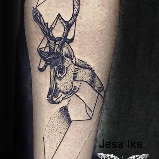 tatouage cerf, origami | body a.r.t | pinterest | lyon, piercing and