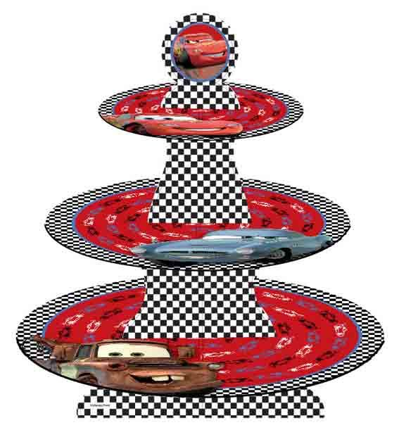 Cupcake Stand Disney Cars Cake Decorating Solutions | My