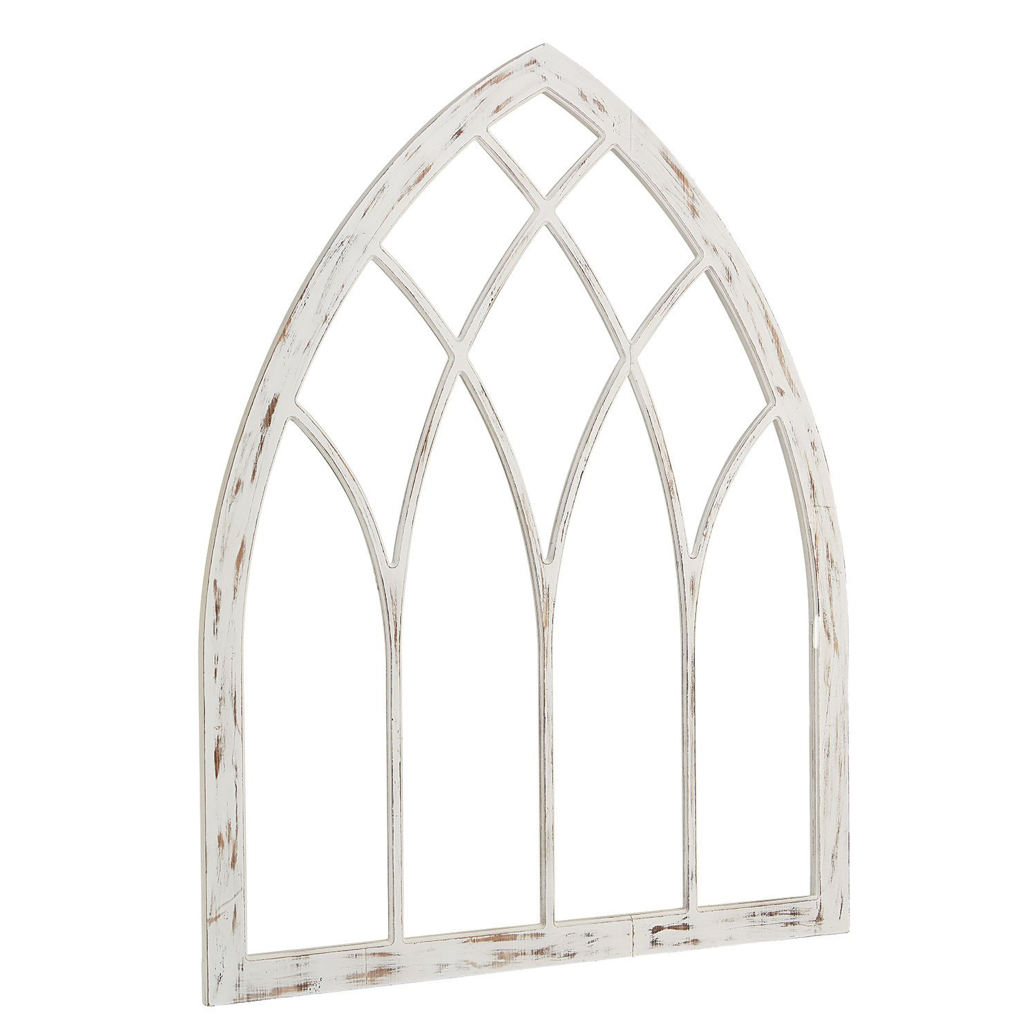 Lancet Window Panel Magnolia Home Architectural Decor Window Wall Decor Arched Wall Decor
