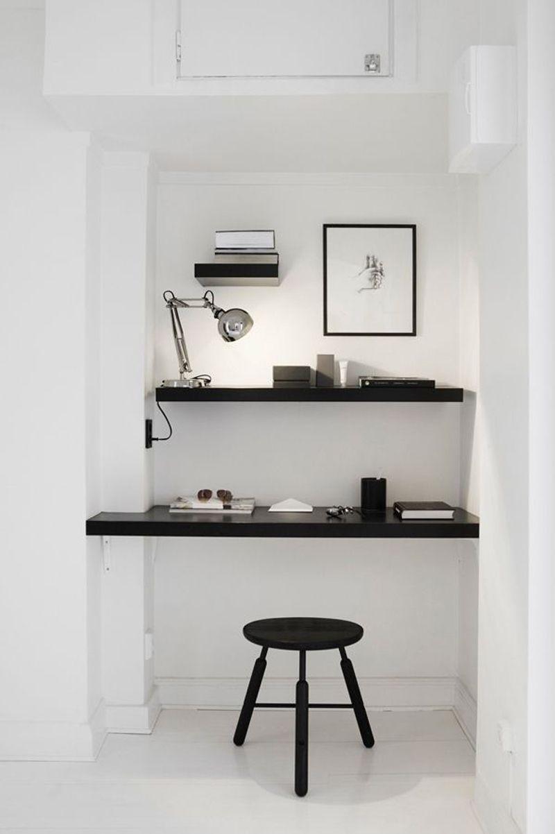 Idee Bureau Pour Petit Espace