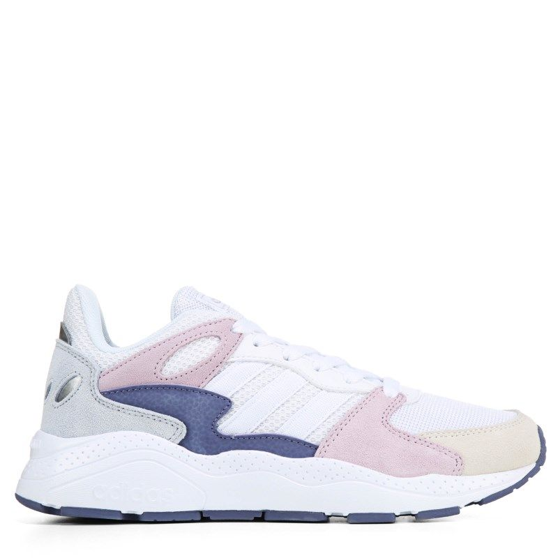 ADIDAS WOMENS CRAZYCHAOS SNEAKER WHITE PINK BLUE SHOES 2019