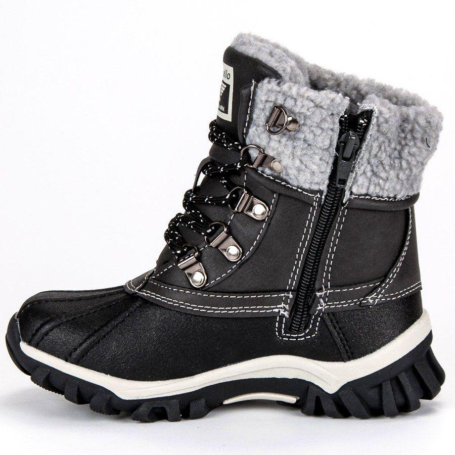 Kozaki Dla Dzieci Arrigobello Arrigo Bello Szare Ocieplane Obuwie Dzieciece Boots Winter Boot Shoes