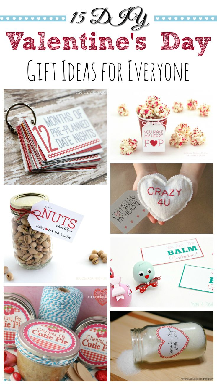15 DIY Valentine\'s Day Gifts | Crafty, Homemade and Gift