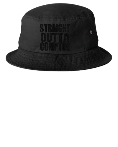 STRAIGHT OUTTA COMPTON - Bucket Hat  c41ea16b1a1