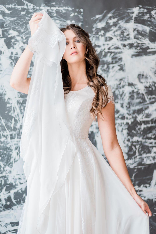Editorial bridal shoot for elizabeth cooper design