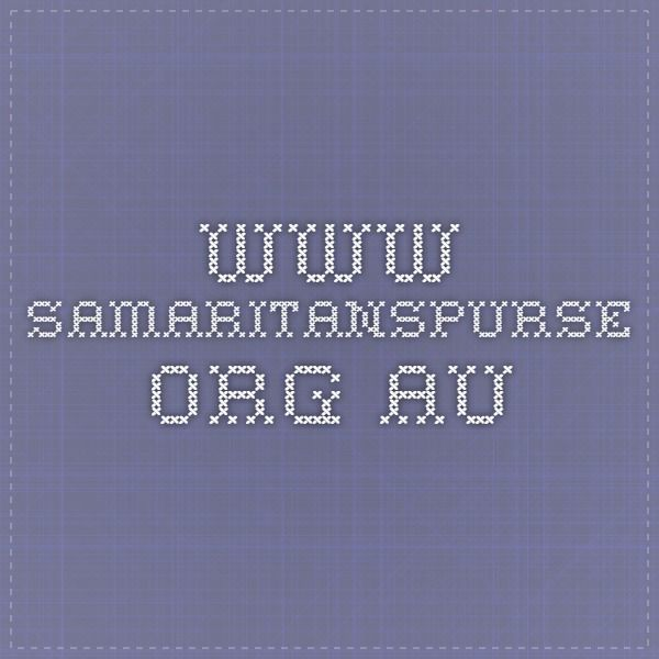 www.samaritanspurse.org.au Suggested list