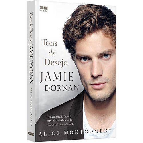 Livro Jamie Dornan Tons De Desejo Tons De Desejo Jamie Dornan