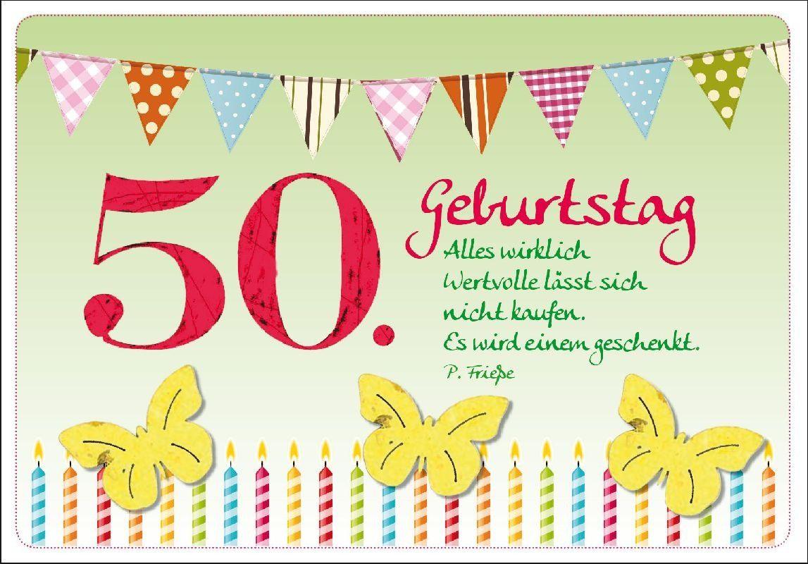 Geburtstagwünsche Zum 50
