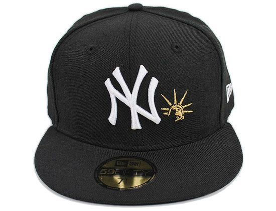 139c10e89f535a Statue Of Liberty New York Yankees 59Fifty Fitted Cap by MLB x NEW ERA