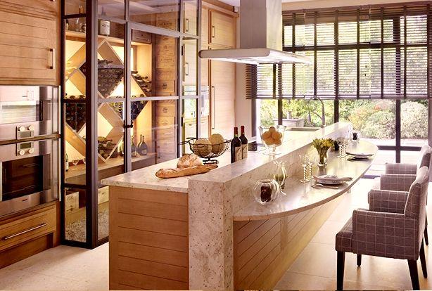 cuisine ralise par un artisan bniste fabricant de cuisines salles ... - Meuble De Cuisine Sur Mesure