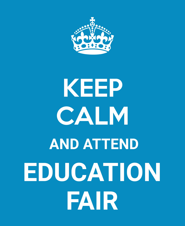 #KeepCalmQuotes #EducationFair #StudyOverseas
