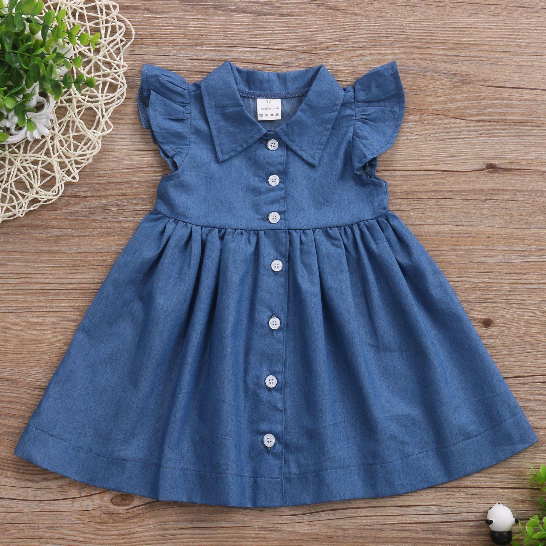 1bb614be8d858 Denim Marigold Dress   Products   Toddler dress, Dresses, Blue denim ...