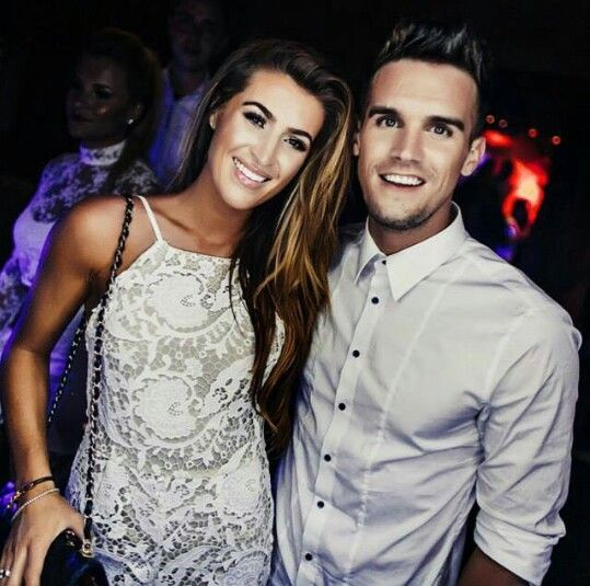 Gaz and his girlfriend
