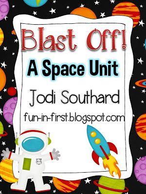 Fun In First Grade My Space Unit Is Updated Space Unit First Grade Science Solar System Unit