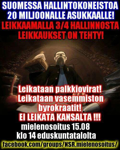 Suomalainen valtiososialismi konkreettisesti Tarja Halosen märkä uni henkiin herännyt DDR jossa kansalaiset vakoilevat toisiaan ja raportoivat verottajalle