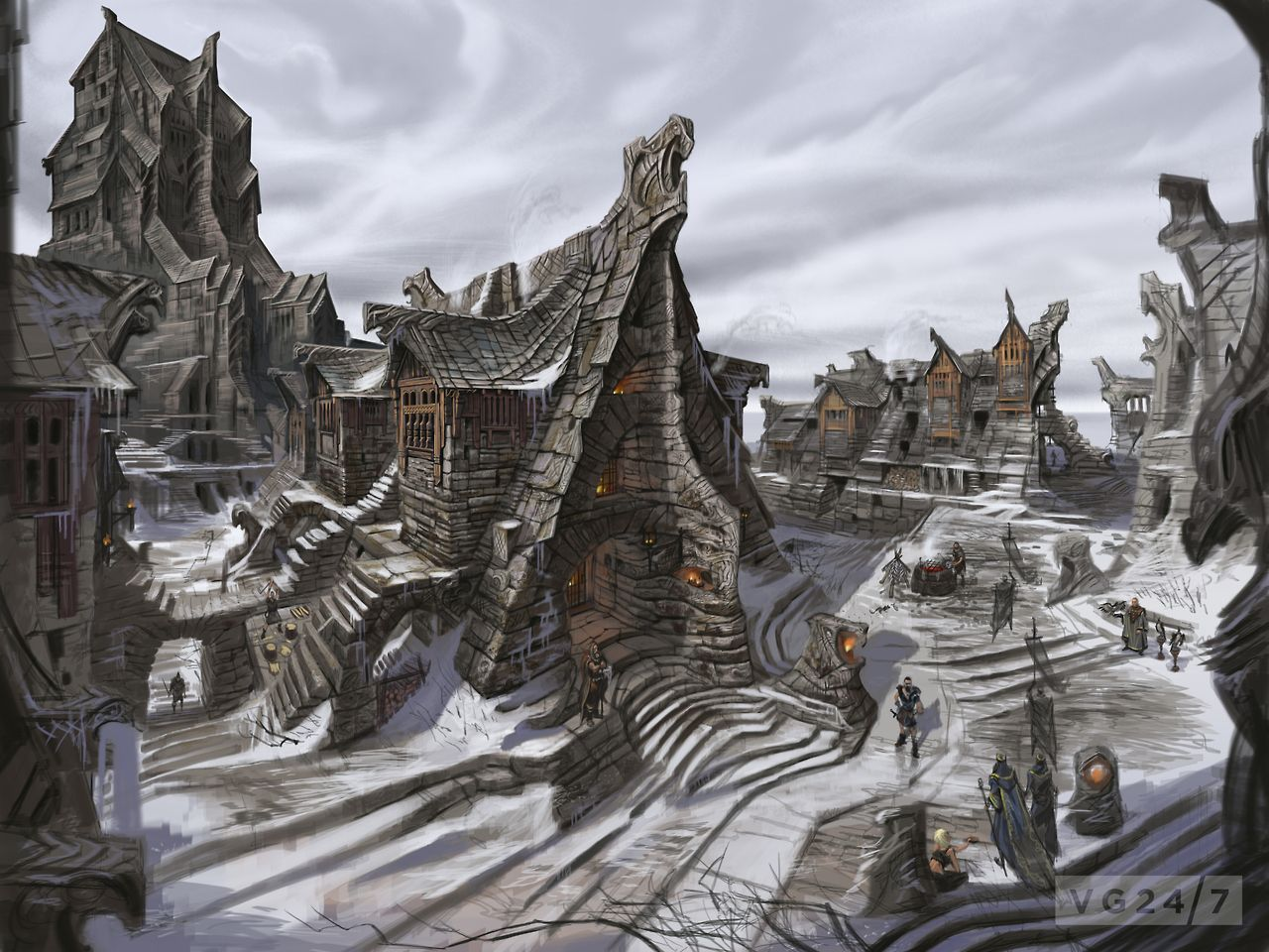 The Elder Scrolls V: Skyrim Concept Art